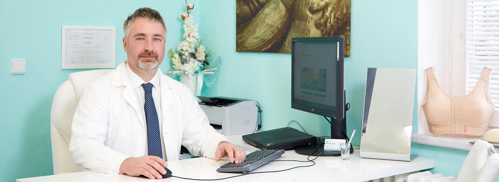 prim. MUDr. FILIP ČERNOCH estetická a plastická chirurgie CBP Klinika